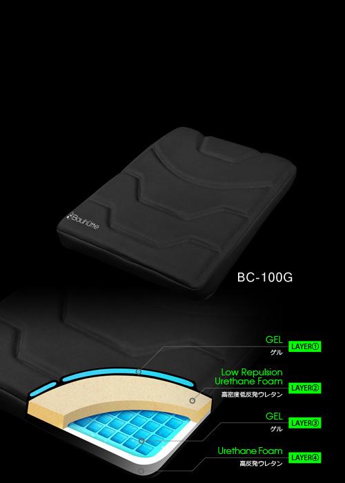 ゲーミング座布団 BC-100G