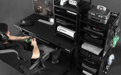 ゲーム機収納のアイデアが満載!収納アイテムと共に見る9の案