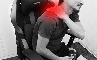 肩こり、頭痛を解消!ゲームや仕事中でも出来る3つの簡単ストレッチ