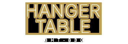 ハンガーラックテーブル BHT-830
