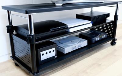 ゲーム機(ps4/switch)収納のためのテレビ台。決定版はこれ!