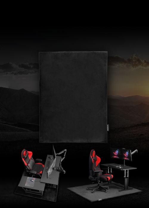 デスクごとチェアマット カーペットタイプ BCM-160C / 180C / 160RPG