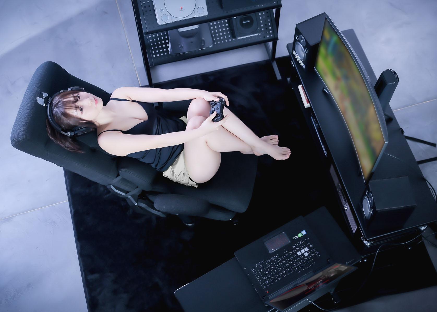 ゲーミングソファ座椅子 GX-350 gallery